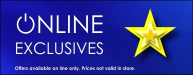 Online exclusive offers